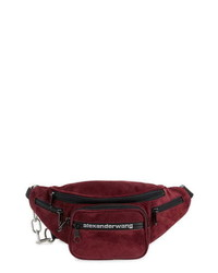 Alexander Wang Attica Suede Fanny Pack
