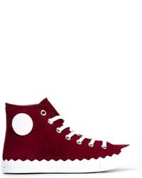 Chloé Kyle Hi Top Sneakers