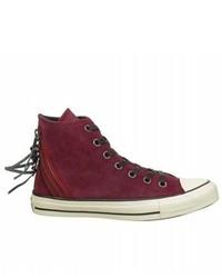 Chuck taylor tri zip suede high top sneaker medium 268696