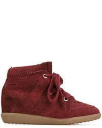Isabel marant toile bobby hi top sneakers medium 3688524