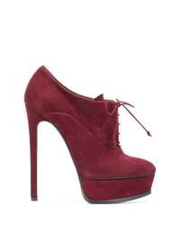Casadei Lace Up Platform Boots