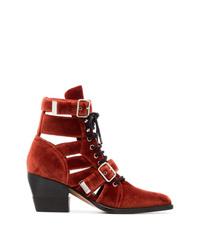 Chloé Velvet Reilly 60 Boots