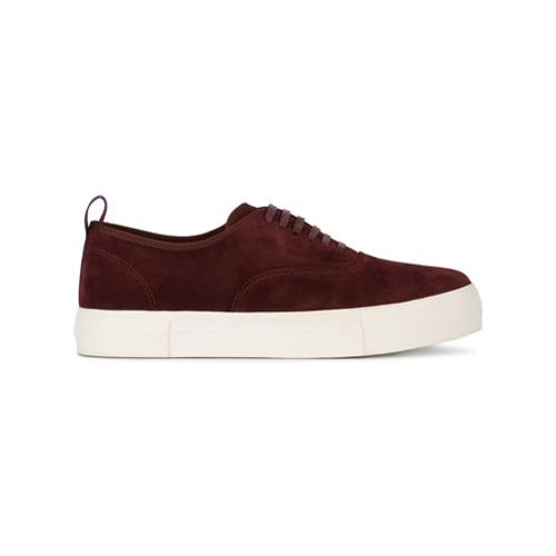 8146d93ec76 Eytys Burgundy Mother Cabernet Sneakers, $213   farfetch.com ...