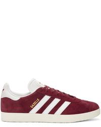 Originals burgundy og vintage gazelle sneakers medium 828070