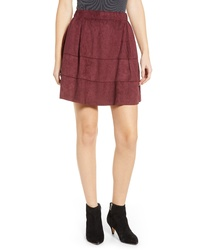 Noisy May Lauren Faux Suede Miniskirt