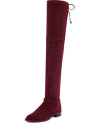 Stuart Weitzman Lowland Suede Over The Knee Boot