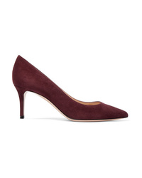 Gianvito Rossi 70 Suede Pumps