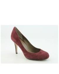 Cole Haan Air Taliapump Burgundy Suede Pumps Heels Shoes