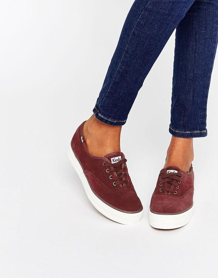 Keds 70s Suede Platform Sneakers, $53