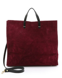 Clare v suede simple tote medium 529112