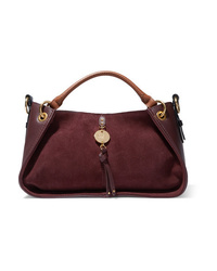 See by Chloe Luce Leather And Suede Tote