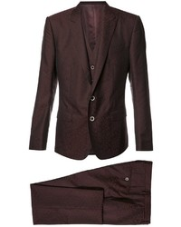 Dolce & Gabbana 3 Piece Formal Suit