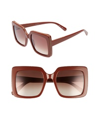Stella McCartney 53mm Square Sunglasses