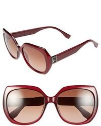Fendi 57mm Oversized Sunglasses