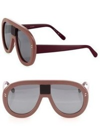 Stella McCartney 60mm Shield Sunglasses