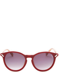 Kenzo Burgundy Acetate Sunglasses