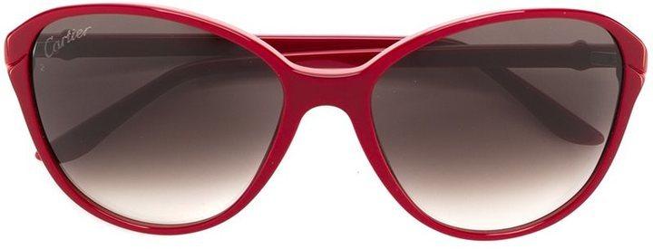 21ec2d4d945 Cartier Double C Decor Sunglasses