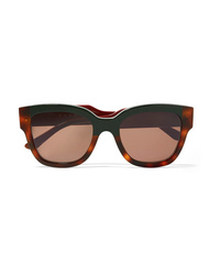 Marni Cromo Cat Eye Tortoiseshell Acetate Sunglasses