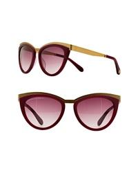Freida Rothman Daphne 56mm Cat Eye Sunglasses