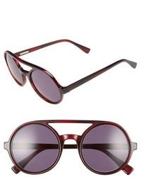Derek Lam Morton 52mm Sunglasses Black Brown