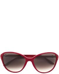 Cartier Double C Decor Sunglasses