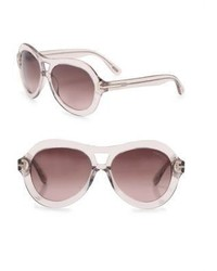 Tom Ford Eyewear Islay 56mm Aviator Sunglasses