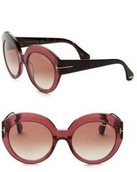 Tom Ford Eyewear Rachel 54mm Round Sunglasses