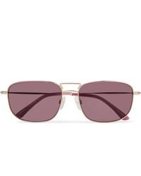 Sun Buddies Giorgio Square Frame Gold Tone Sunglasses