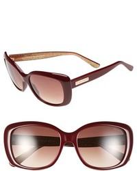 Jimmy Choo 56mm Sunglasses Black