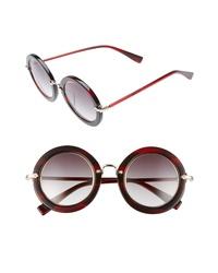 Derek Lam Madison 46mm Round Sunglasses