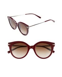Max Mara Needle Vi 50mm Gradient Round Sunglasses
