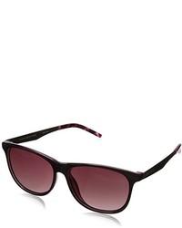 Tommy Hilfiger Ths Lad166 Wayfarer Sunglasses Burgundy Pink 56 Mm