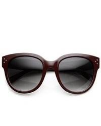 ZeroUV Large Oversized Fashion Wayfarer Sunglasses