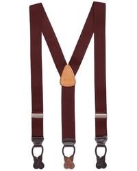 Brooks Brothers Solid Suspenders