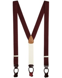 Brooks Brothers Extra Long Solid Suspenders