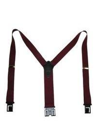 Perry Suspender Premium Dress S Burgundy Tall