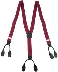 Asstd National Brand Status 1 Button Suspenders