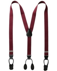 Status Suspenders 114 Inch Poly Elastic 46 Inch Leather Button Ends