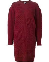 Burgundy sweater dress original 10228096