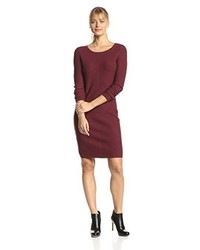 Andrew Marc Marc New York By Long Sleeve Sweater Dress