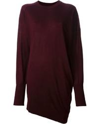 Alexander Wang Asymmetric Sweater Dress