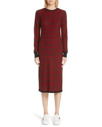 Marc Jacobs Stripe Wool Sweater Dress