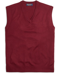 Burgundy Sweater Vest