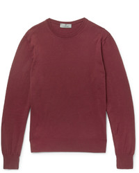 Canali Knitted Cotton Sweater