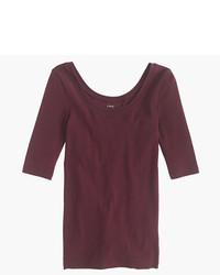 J.Crew Perfect Fit Scoopneck T Shirt