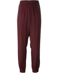 Lanvin Tapered Drop Crotch Trousers