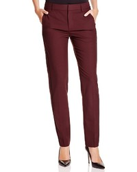 Vince Stretch Wool Tapered Pants