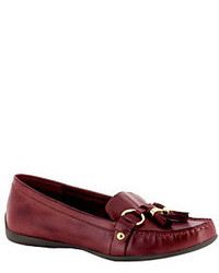 Burgundy tassel loafers original 2576463