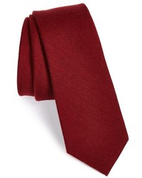 The Tie Bar Wool Silk Solid Tie