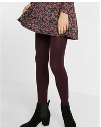 Express Marled Full Tights